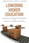 Lowering Higher Education book jacket